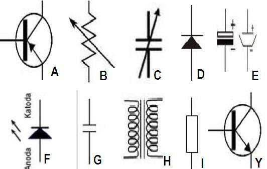 simbol simbol elektronik